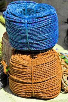 Free Rope Bundles Royalty Free Stock Photography - 8486957
