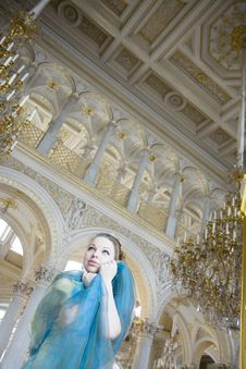 Free Princess In The Palace Stock Photography - 8487172