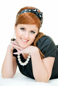 Free Smiling Redheaded Royalty Free Stock Photography - 8487387