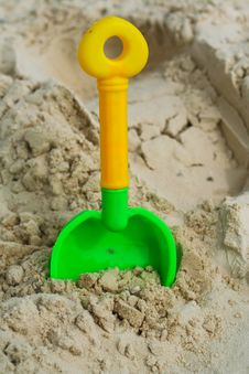 Free Sand Beach Toy Stock Images - 8487504