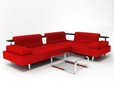 Free Sofa And Table Royalty Free Stock Images - 8487559