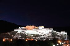 Free Potala Palace Stock Photography - 8487722