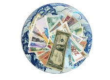 Free Currencies From Around The World, Paper Banknotes. Royalty Free Stock Photography - 8487987
