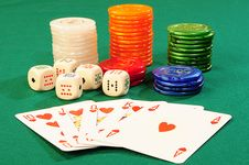 Free Casino Accessories Stock Images - 8488084