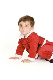 Free Santa Baby Stock Photography - 8489002