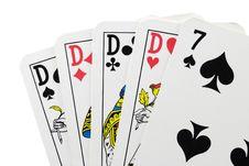 Free Poker Hand Stock Photos - 8489023