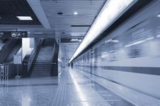 Free Subway Station. Stock Images - 8489084