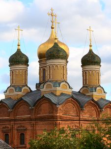 The Russian Orthodoxy Church Stock Photos