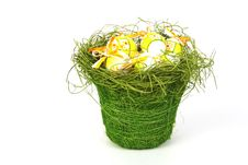 Free Easter Eggs Royalty Free Stock Photo - 8489195