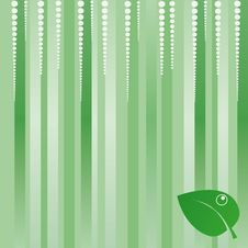 Free Green Eco Background Royalty Free Stock Photography - 8489277