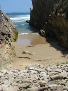 Free Private Beach Stock Photography - 8489282