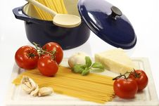 Free Cooking Spaghetti Stock Photography - 8489372