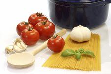 Free Cooking Spaghetti Stock Image - 8489391