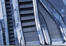 Free Escalator Royalty Free Stock Image - 8489546