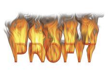 Free Hot Profit Stock Image - 8489981