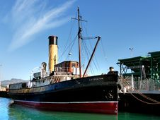 Free Steam Tug Lyttleton.FZ200 Stock Photography - 84898172