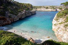 Free Es Caló De S Moro &x28;Mallorca, Spain&x29; Royalty Free Stock Photos - 84898608