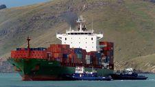 Free Mozart. Container Ship. Stock Photos - 84898683