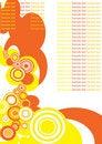 Free Seamless Circle Retro Pattern Stock Image - 8490921