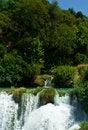 Free Beautiful Forest Waterfall, Croatia Royalty Free Stock Image - 8497936