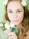 Free Spring Girl Stock Image - 8498411
