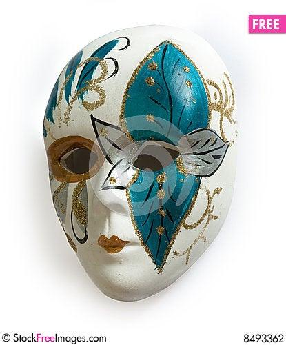 Free Venetian Carnival Mask Stock Photography - 8493362