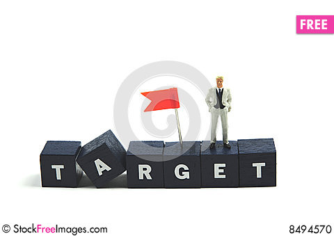 Free Business Target Stock Photo - 8494570