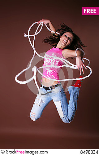 Free The Young Beautiful Girl During Active Leisure Stock Images - 8498334