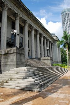 Free Singapore: Old City Hall Stock Photos - 8490593