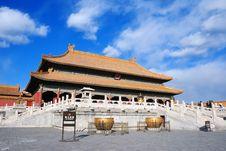 Free The Forbidden City Royalty Free Stock Photo - 8490645
