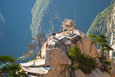 Small Pagoda In The Mountains Stock Photography