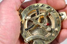 Free Antique Compass. Stock Photo - 8490950