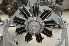 Free Radial Aircraft Machine Stock Image - 8490951