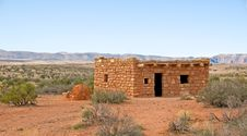 Primitive Native American Dwelling Stock Images