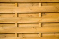 Fence From Wooden Boards. Royalty Free Stock Image