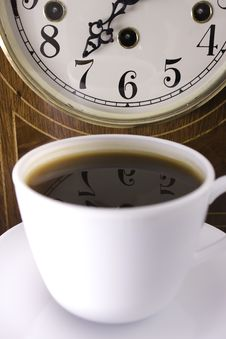 Free Coffee Time Royalty Free Stock Photo - 8491605