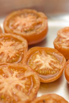 Free Grilled Tomatos Royalty Free Stock Photography - 8491697