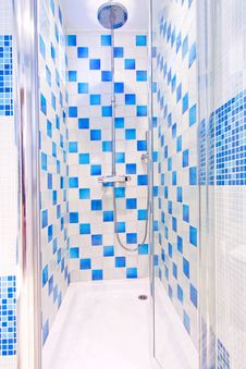Free Shower Cabin Royalty Free Stock Image - 8491996