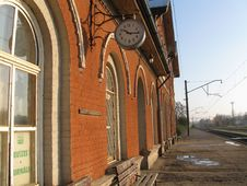 Free Railway Station Royalty Free Stock Photography - 8492137