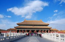 Free The Forbidden City Royalty Free Stock Photos - 8492478