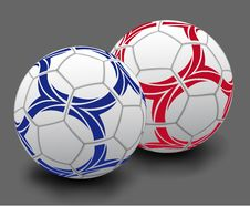 Soccer Balls Stock Photography