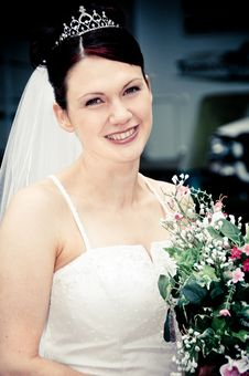 Free White Bride Royalty Free Stock Photography - 8493127