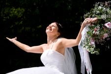 Free White Bride Royalty Free Stock Images - 8493129