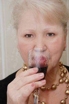 Free Woman Of Senior Years Stock Image - 8493141