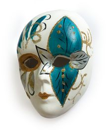 Venetian Carnival Mask Stock Photography
