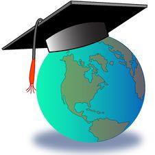 Graduated Glob Royalty Free Stock Photos