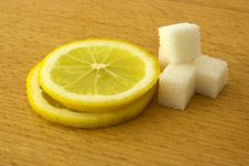 Free Lemon And Sugar Royalty Free Stock Photography - 8493667