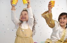 Free Confetti!! Royalty Free Stock Photos - 8494088