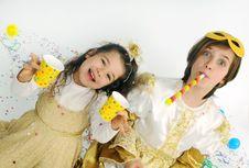 Confetti!! Stock Photography