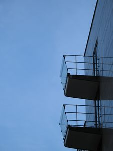 Free Balconies Royalty Free Stock Images - 8494789
